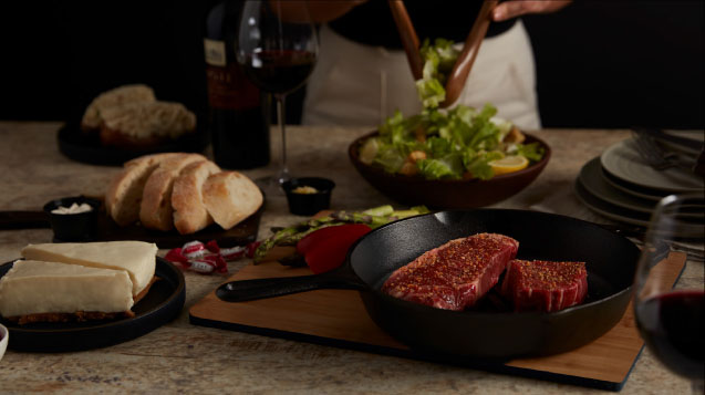 The Keg Steakhouse + Bar - Filet Mignon & New York Striploin Dinner Kit