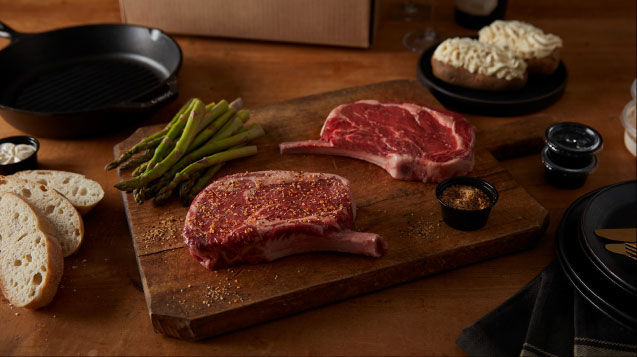 The Keg Steakhouse + Bar - Rib Steak Kit